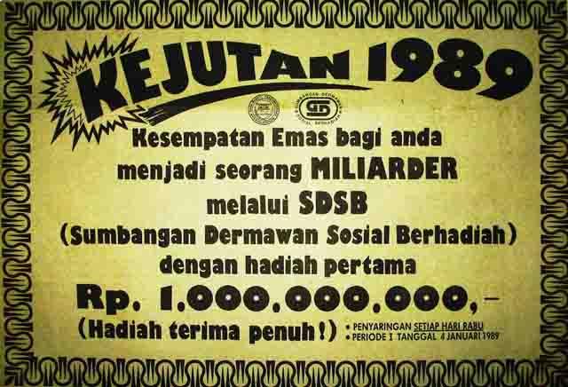 sejarah togel online di Indonesia